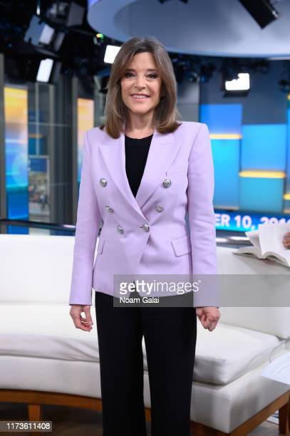 Democratic presidential candidate Marianne Williamson visits Fox & Friends at Fox News Channel Studios on September 10, 2019 in New York City.