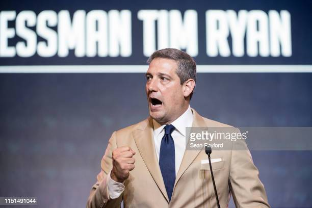 Democratic presidential candidate Rep Tim Ryan speaks to the crowd during the 2019 South Carolina Democratic Party State Convention on June 22 2019...