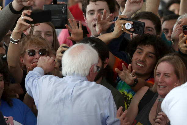 CA: Presidential Candidate Bernie Sanders Holds Campaign Rally In Richmond, CA