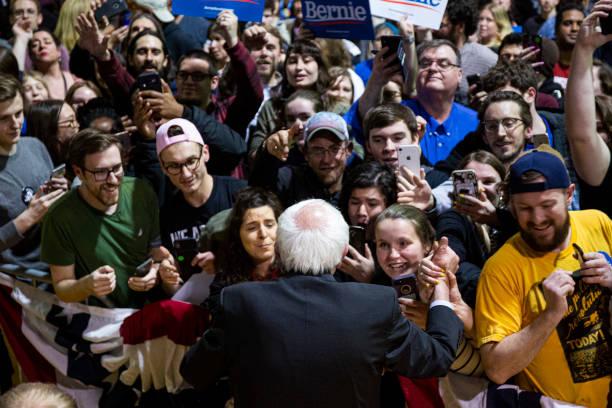 VA: Bernie Sanders Holds Campaign Rally In Richmond, Virginia