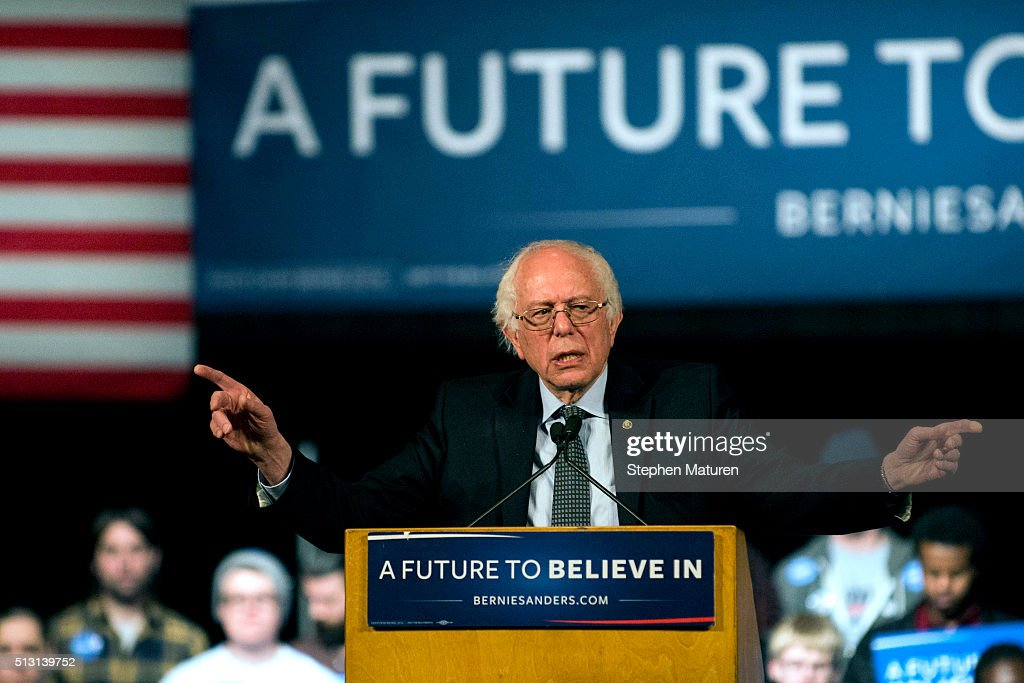 Presidential Candidate Bernie Sanders Campaigns In Minneapolis