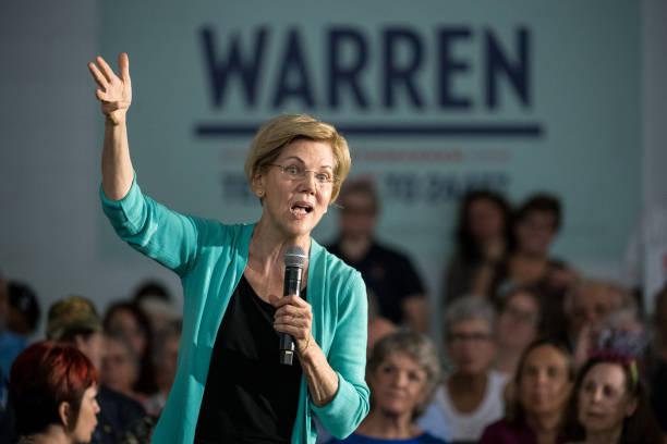 SC: Presidential Candidate Elizabeth Warren Holds A Town In Aiken, SC