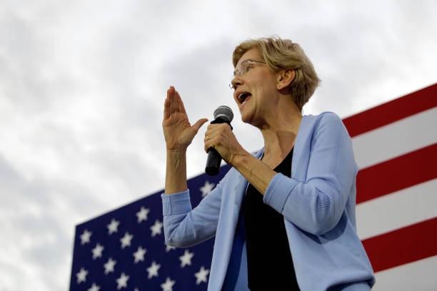 IA: Presidential Candidate Elizabeth Warren Holds A Town Hall In Iowa