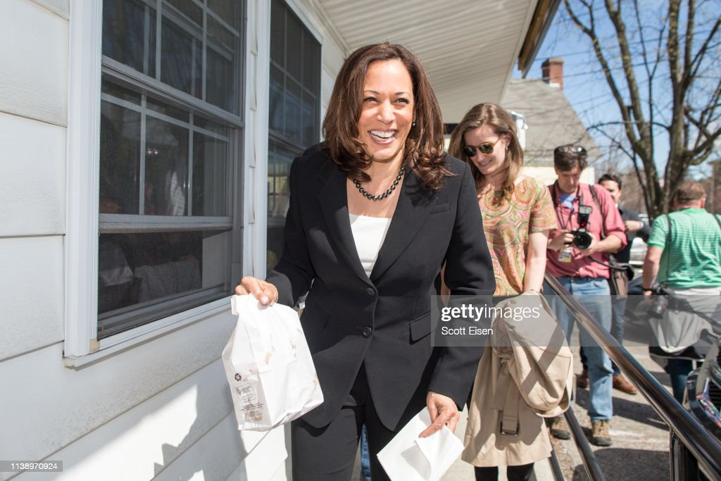 NJ: Kamala Harris Campaigns In New Hampshire