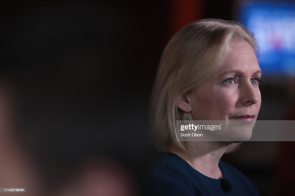 IA: Democratic Presidential Candidate New York Sen. Kirsten Gillibrand Campaigns In Des Moines, Iowa