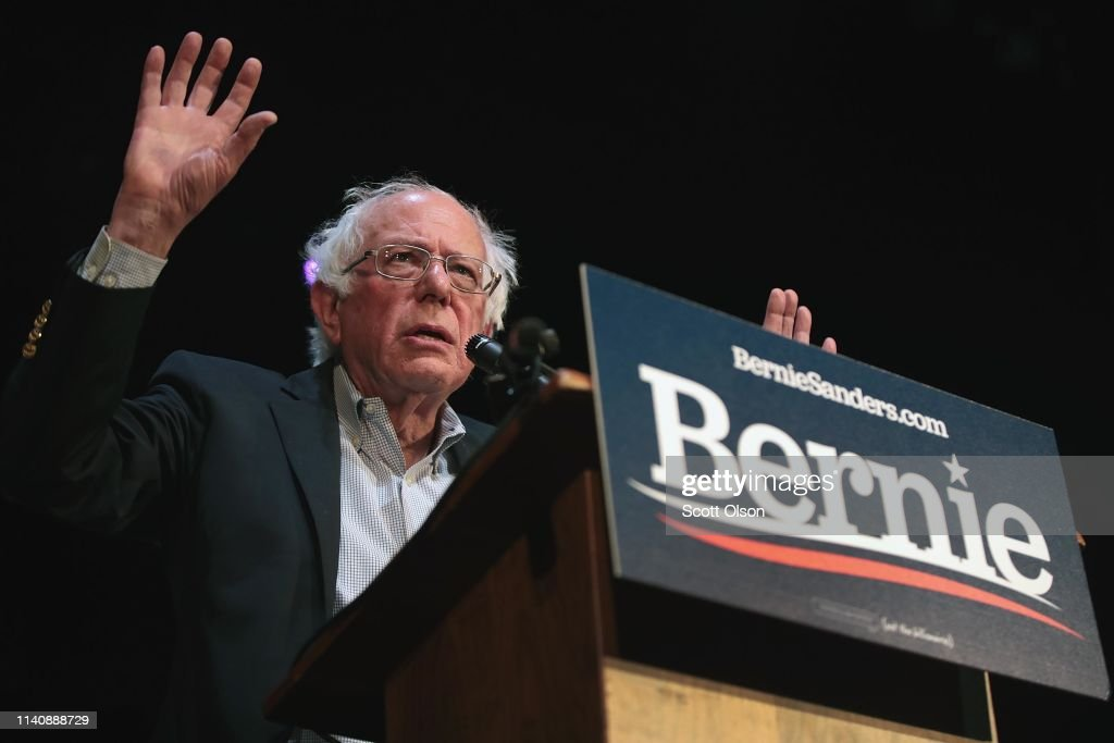 Bernie Sanders Takes His Presidential Campaign Back To Iowa : News Photo