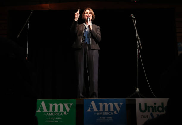 CA: Democratic Presidential Candidate Amy Klobuchar Campaigns In California