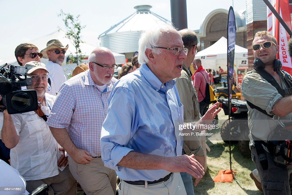 Presidential Candidates Stump At Iowa State Fair : News Photo