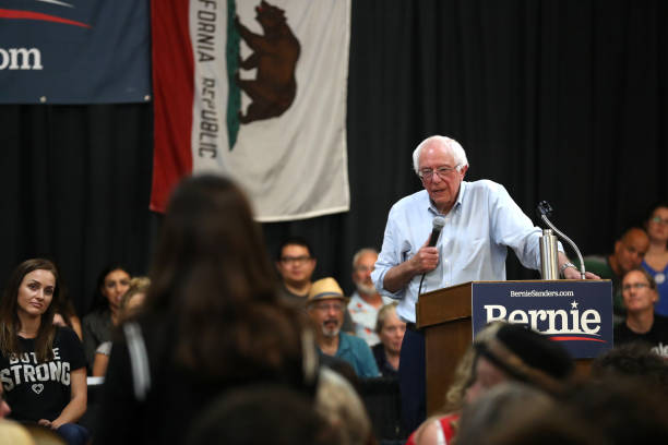 CA: Bernie Sanders Holds Town Hall On Climate Change In Chico, CA