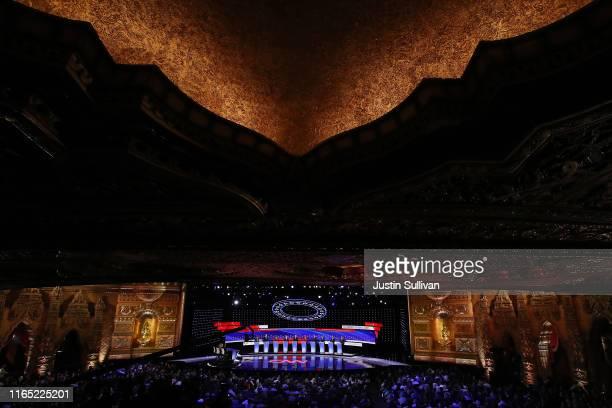 Democratic presidential candidates Marianne Williamson , Rep. Tim Ryan , Sen. Amy Klobuchar , Indiana Mayor Pete Buttigieg, Sen. Bernie Sanders ,...