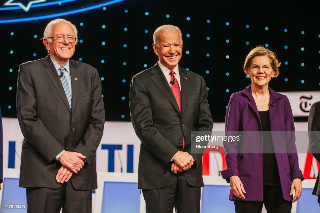 Candidates Attend Fourth 2020 Democratic Presidential Debate : News Photo