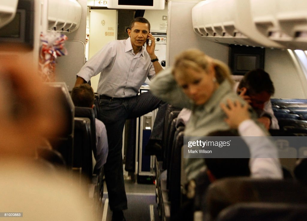 Obama Returns To Washington After Primary Night : News Photo