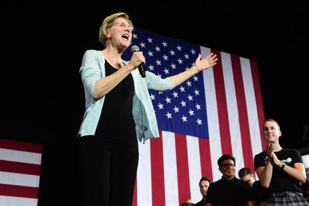 CA: Presidential Candidate Elizabeth Warren Holds Town Hall In Los Angeles