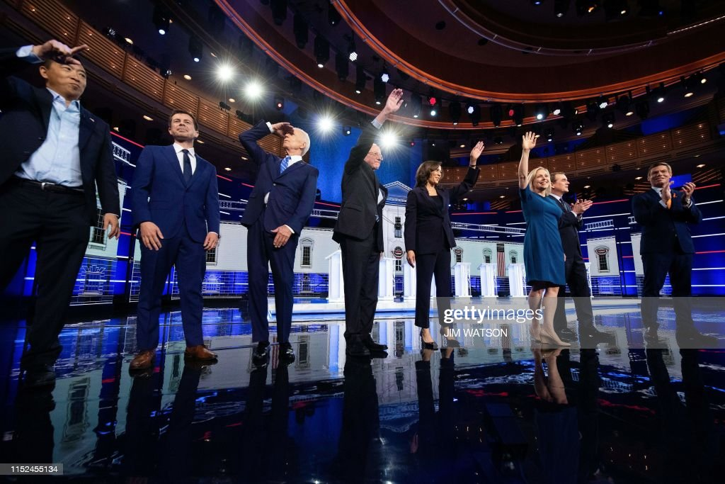 US-VOTE-2020-DEMOCRATS-DEBATE : News Photo