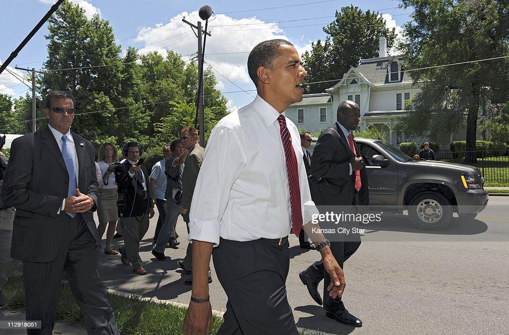 Campaign-Obama : News Photo