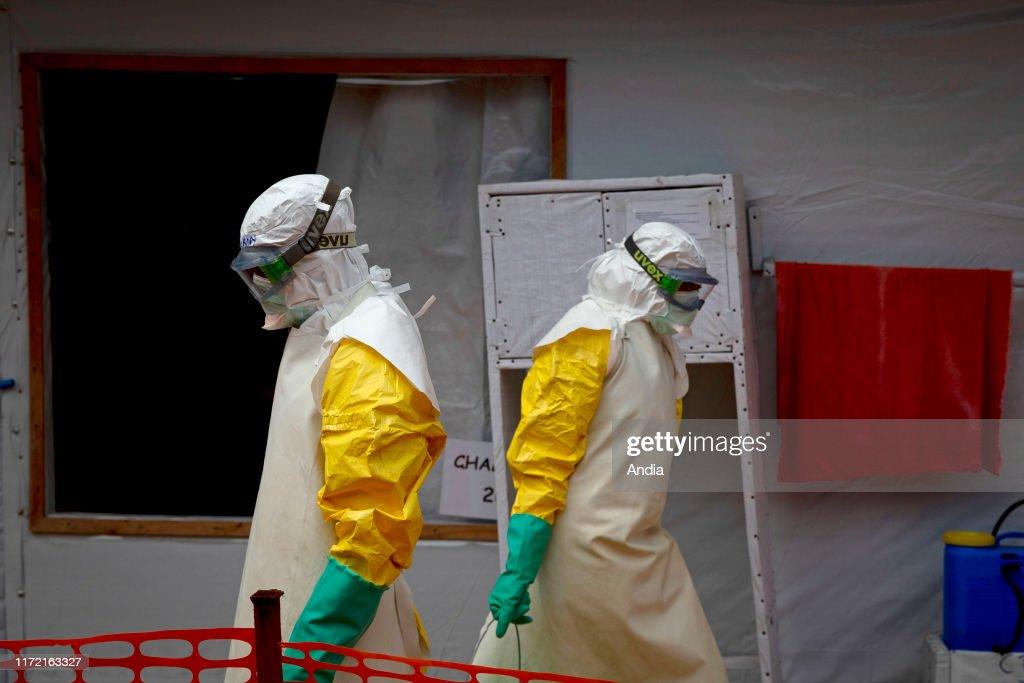 Ebola treatment centre in Butembo. : News Photo