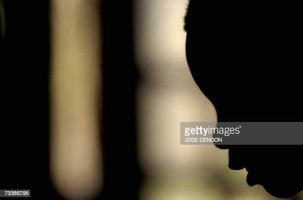 Democratic Republic of the Congo: This picture taken 26 January 2006 shows a Congolese boy, former rebel soldier, at a center for demobililized war...