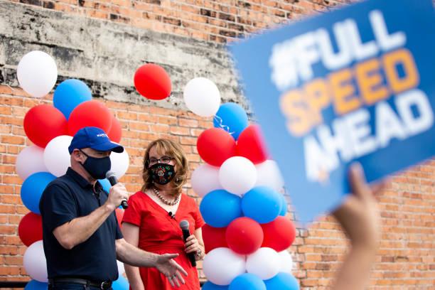 AZ: Mark Kelly Campaigns For Senate In Arizona