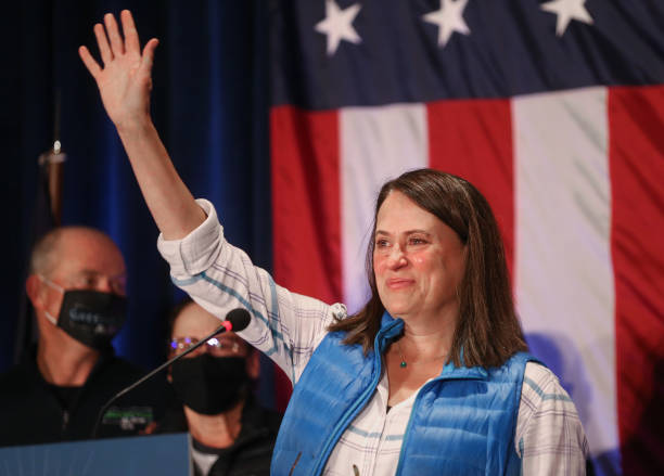 IA: Iowa Democratic Senate Candidate Theresa Greenfield Holds Election Night Event