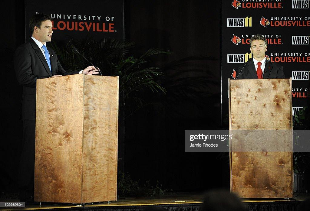 Rand Paul And Jack Conway Debate In Kentucky