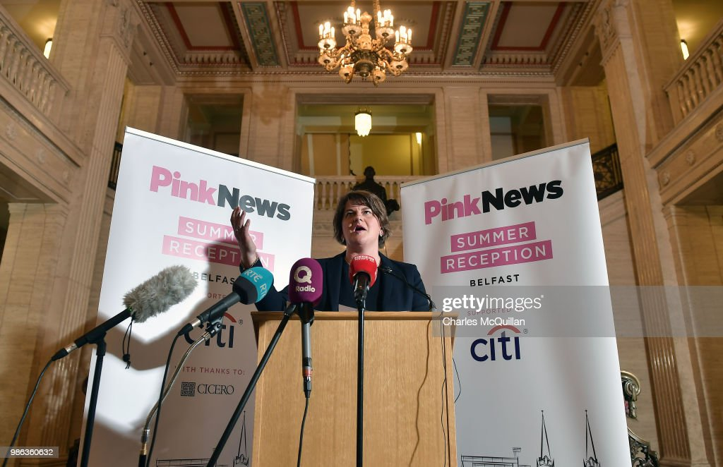 GBR: Party Leaders Attend PinkNews Parliamentary Summer Reception