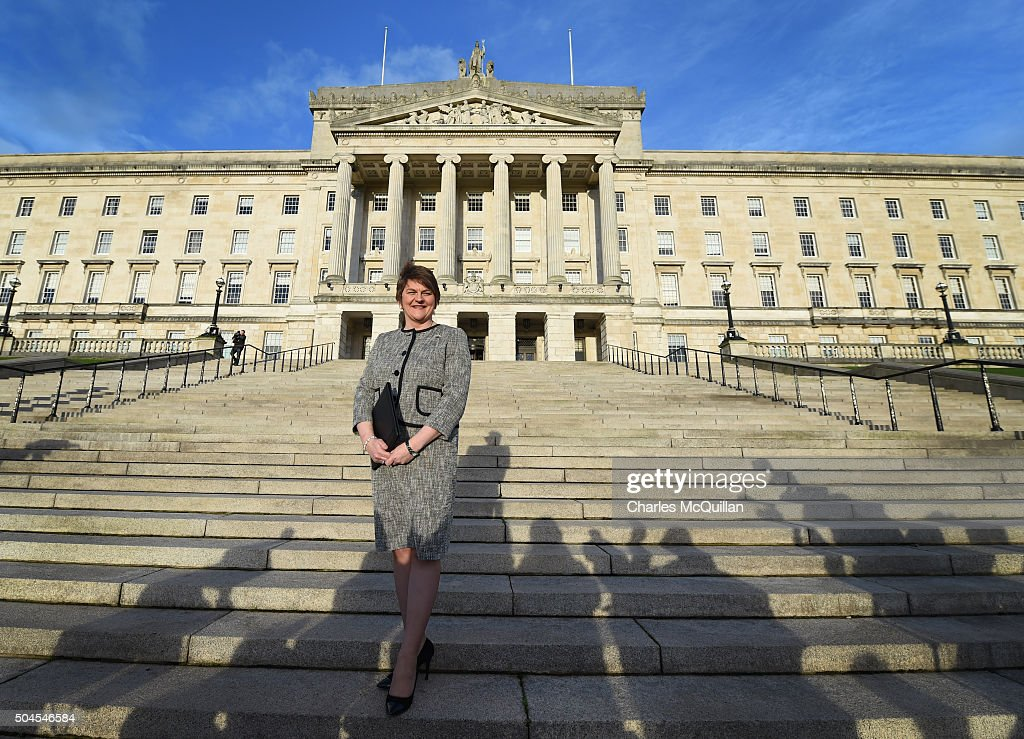 Arlene Foster Is Inaugurated As The First Minister Of Northern Ireland