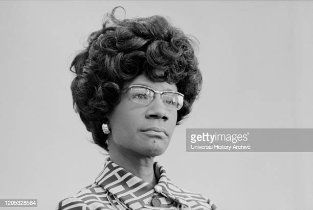 Democratic US Congresswoman Shirley Chisholm Announcing her Candidacy for US Presidential Nomination Thomas J O'Halloran January 25 1972