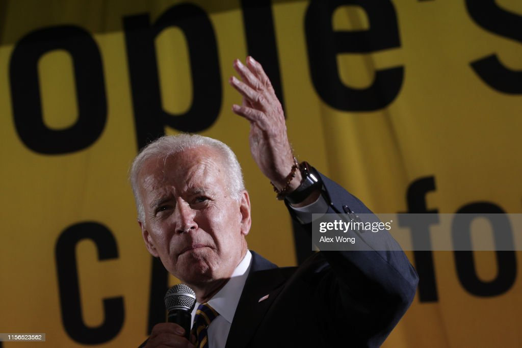 Democratic Presidential Candidates Attend Poor People's Moral Action Congress In D.C. : News Photo