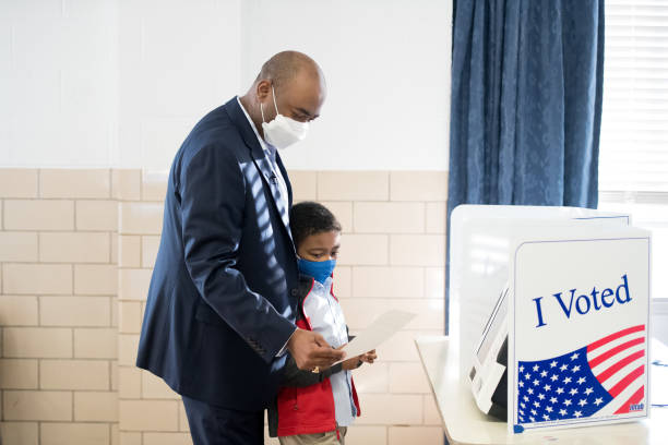 SC: Senate Candidate Jaime Harrison Votes In South Carolina