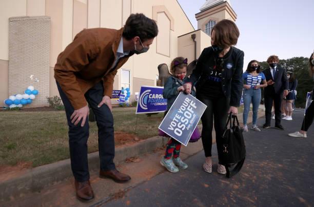 GA: Democratic Senate Candidate Jon Ossoff Campaigns In Georgia Ahead Of Election
