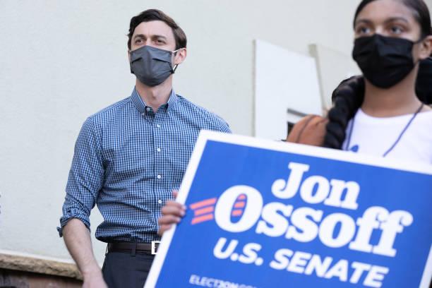 GA: Democratic Senate Candidate Jon Ossoff Campaigns In Kennesaw, GA