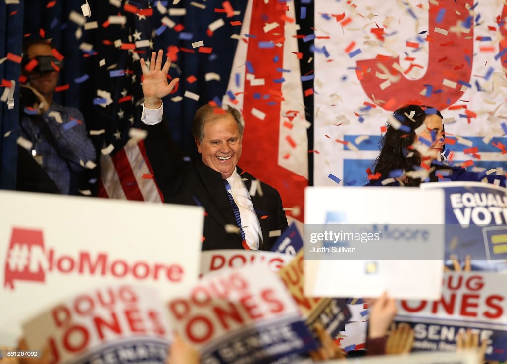 Doug Jones Scores Epic Win, Stuns Roy Moore in Alabama