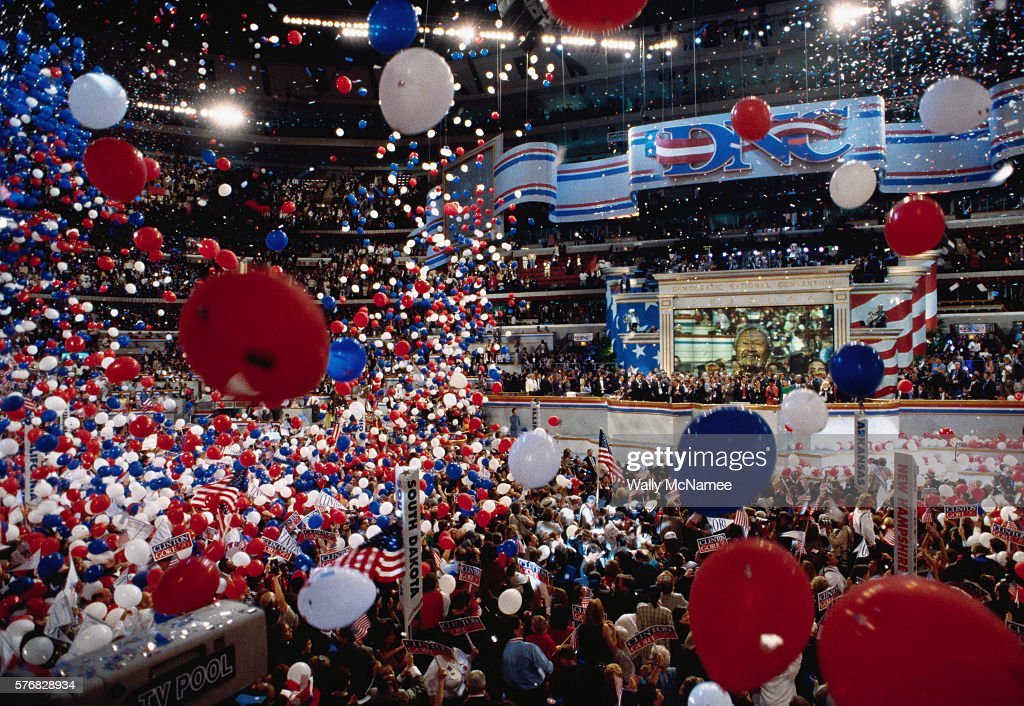 Democratic National Convention Celebrations : News Photo