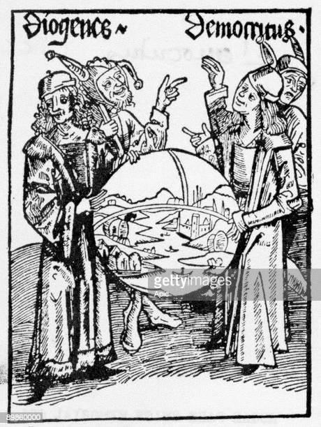 Democritus of Abdera and Diogenes of Sinope scientists