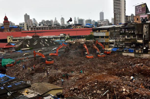 IND: BMC Demolished Chhatrapati Shivaji Maharaj Fish Market In Mumbai