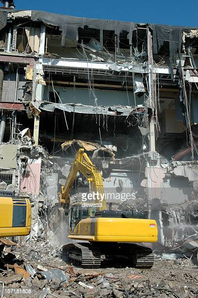 demolition - urban renewal stock pictures, royalty-free photos & images