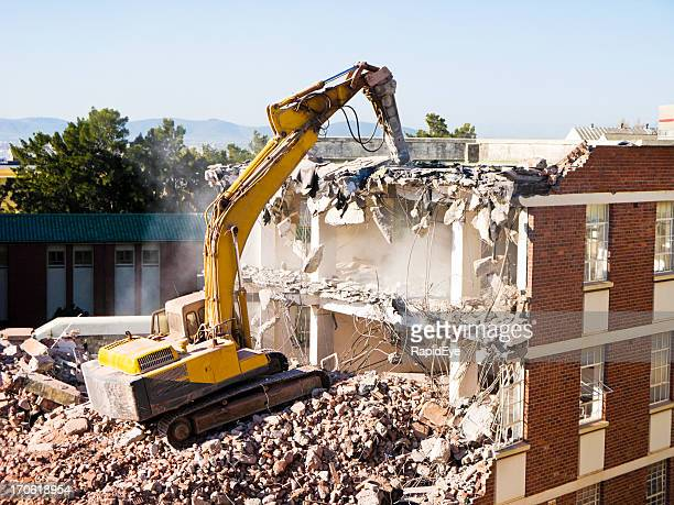 demolition - demolishing stock pictures, royalty-free photos & images