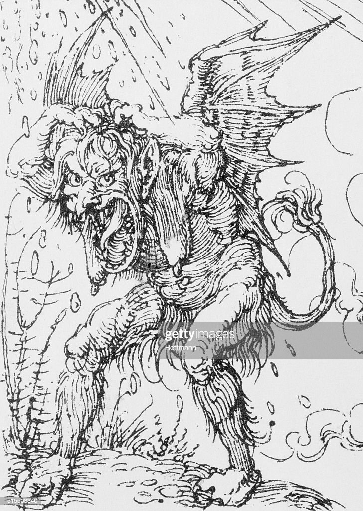 Demon, by Durer  Undated  News Photo - Getty Images