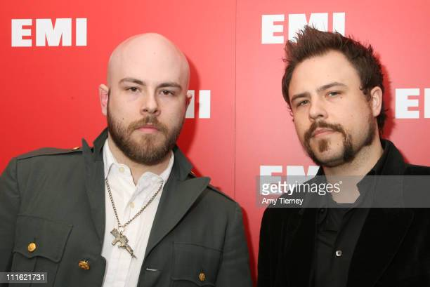 Demon Hunter during 2007 EMI Post GRAMMY Party Arrivals at BOULEVARD 3 in Hollywood California United States