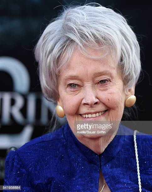 Demonologist Lorraine Warren arrives at the 2016 Los Angeles Film Festival 'The Conjuring 2' Premiere at TCL Chinese Theatre IMAX on June 7 2016 in...