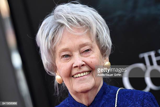 Demonologist Lorraine Warren arrives at the 2016 Los Angeles Film Festival - 'The Conjuring 2' Premiere at TCL Chinese Theatre IMAX on June 7, 2016...