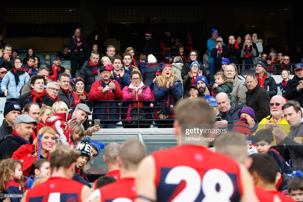 AFL Rd 18 - Melbourne v Port Adelaide : News Photo