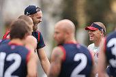 melbourne australia demons head coach simon