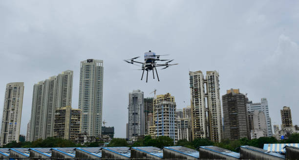 IND: BMC Starts Drone Disinfection Drive