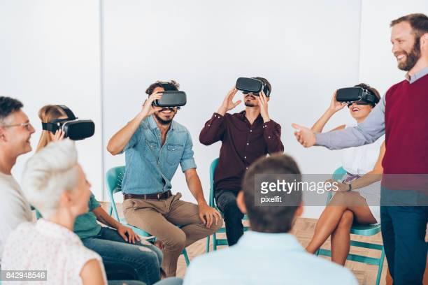 Die virtual-Reality-Technologie