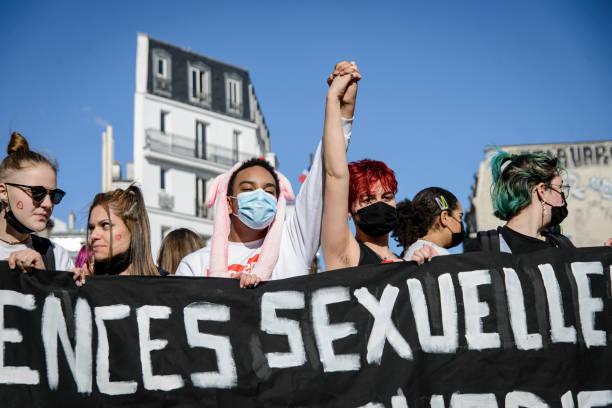 FRA: Demonstration Against Discrimination Of LGBTQI People