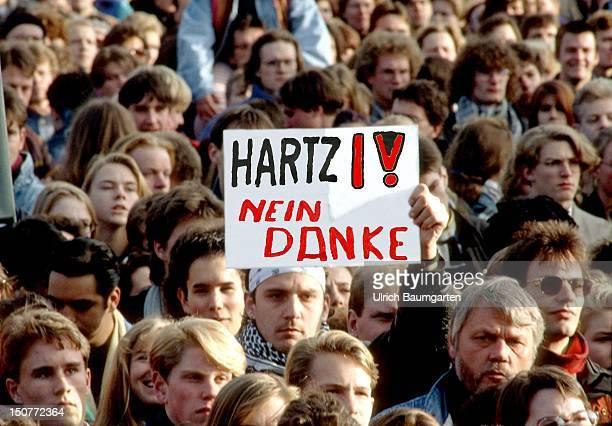 GERMANY BONN Demonstration against Hartz IV