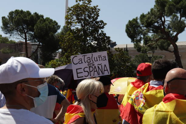 ESP: Demonstration Against The Pardons Of The Catalan Political Prisoners