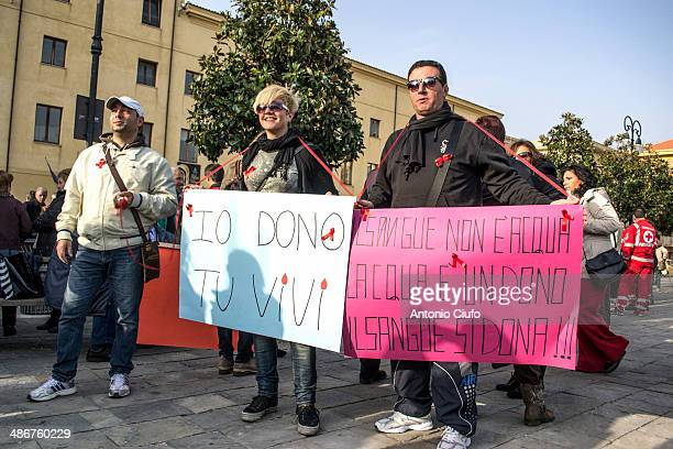 CONTENT] Demonstration against the will of the Government to close the transfusion center of the city Formia March 15 2014