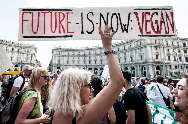 ITA: Animal Amnesty Protest In Rome
